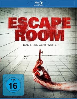 "Das Blu-ray-Cover von ""Escape Room"" (© Universum Film)"
