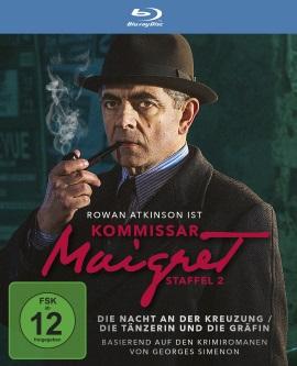 """Das Blu-ray-Cover von """"Kommissar Maigret - Staffel 2"""" (© Polyband)"""