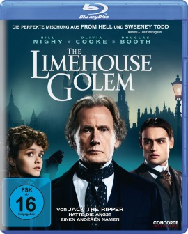"Das Blu-ray-Cover von ""The Limehouse Golem"" (© Concorde Home Entertainment)"