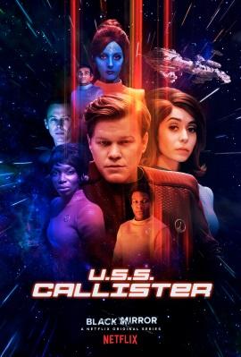 """Das Plakat von """"Black Mirror U.S.S. Callister"""" (© 2017 Netflix)"""