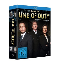 "Die Blu-ray-Box von ""Line of Duty"" (© Justbridge Entertainment)"