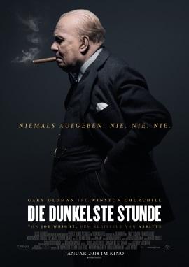 """Das Hauptplakat von """"Die dunkelste Stunde"""" (© Universal Pictures International Germany)"""
