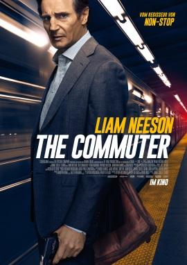 """Das Hauptplakat von """"The Commuter"""" (© StudioCanal)"""