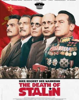 "Das Hauptplakat von ""The Death of Stalin"" (© Concorde Film)"