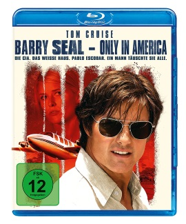 """Das Blu-ray-Cover von """"Barry Seal - Only In America"""" (© Universal Pictures International Germany)"""