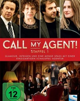 "Das DVD-Cover von ""Call My Agent - Staffel 1"" (© edel:motion)"