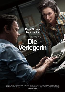 """Das Hauptplakat von """"Die Verlegerin"""" (©2017 Universal Pictures International)"""