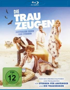 """Das Blu-ray-Cover von """"Die Trauzeugen - Australien sehen und sterben"""" (© Universum Film)"""