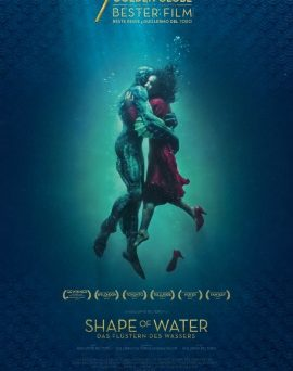 "Das Kino-Plakat von ""Shape of Water"" (© Twentieth Century Fox 2017)"