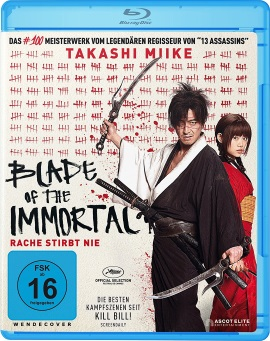 "Das Blu-ray-Cover von ""Blade of the Immortal"" (© Ascot Elite)"
