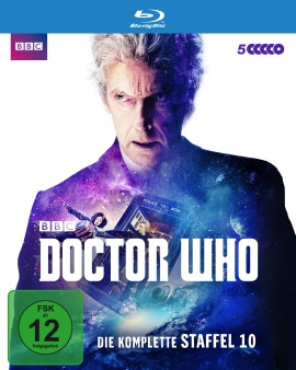 "Das Blu-ray-Cover von ""Doctor Who Staffel 10"" (© Polyband)"