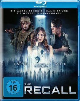 """Das Blu-ray-Cover von """"The Recall"""" (© Falcom Media)"""