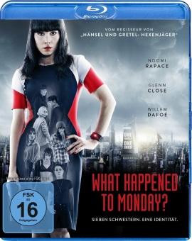 "Das Blu-ray-Cover von ""What Happened To Monday?"" (© Splendid Film)"