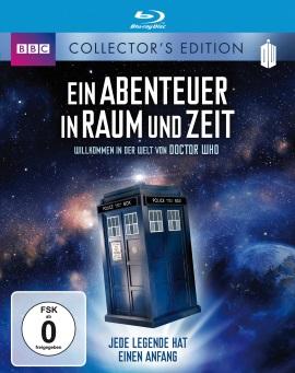 """Das Blu-ray-Cover von """"Ein Abenteuer in Raum und Zeit"""" (© Polyband)"""