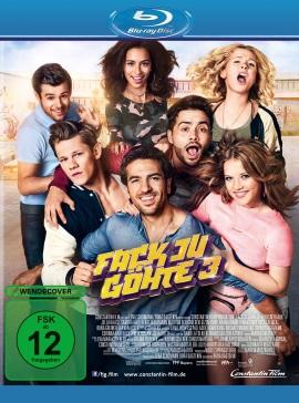 "Das Blu-ray-Cover von ""Fack Ju Göhte 3"" (© Constantin Film)"
