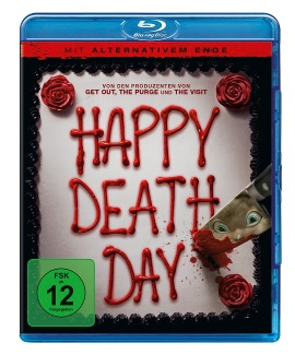 """Das Blu-ray-Cover von """"Happy Deathday"""" (© Universal Pictures Germany)"""