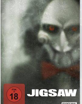 "Das DVD-Cover von ""Jigsaw"" (© StudioCanal)"