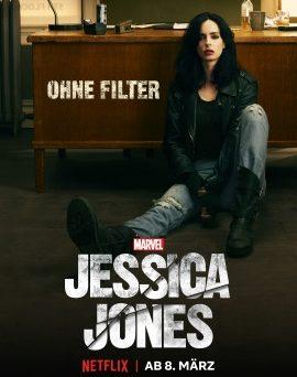 "Das Hauptplakat von ""Jessica Jones Staffel 2"" (© 2018 Marvel/Netflix)"