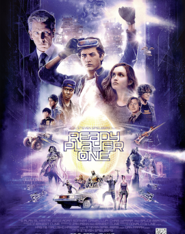 "Das Hauptplakat von ""Ready Player One"" (© Warner Bros Pictures)"