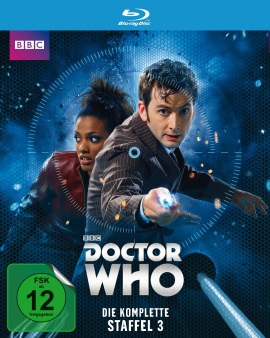 "Das Blu-ray-Cover von ""Doctor Who Staffel 3"" (© Polyband)"