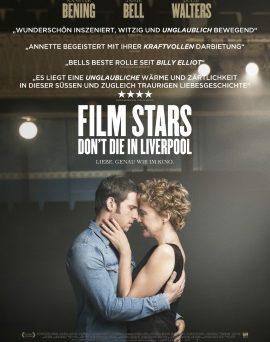 """Das Hauptplakat von """"Film Stars Don't Die In Liverpool"""" (© Sony Pictures)"""