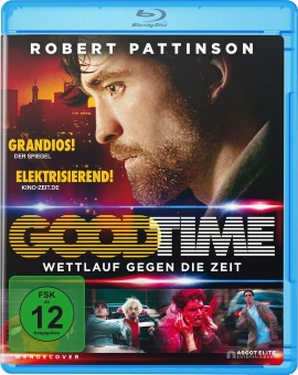 "Das Blu-ray-Cover von ""Good Time"" (© Ascot Elite)"
