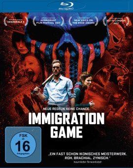 "Das Blu-ray-Cover von ""Immigration Game"" (© Universum Film)"