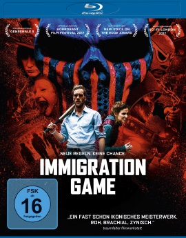 "Das Blu-ray-Cover von ""Immigration Game"" (© Universum Film)"