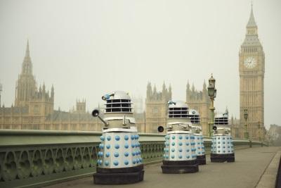 Die Daleks erobern London - und die Herzen der Zuschauer (© Polyband)