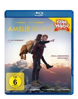 """Das Blu-ray-Cover von """"Amelie rennt"""" (© Farbfilm Verleih)"""