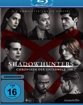 "Das Blu-ray-Cover von ""Shadowhunters Staffel 2"" (© Constantin Film)"