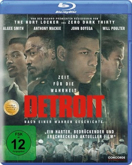 "Das Blu-ray-Cover von ""Detroit"" (© Concorde Home Entertainment)"