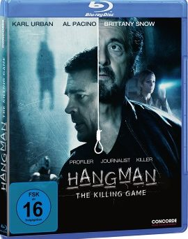 "Das Blu-ray-Cover von ""Hangman - The Killing Game"" (© Concorde Home Entertainment)"