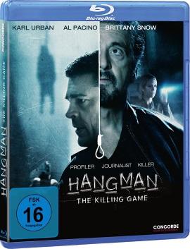 "Das Blu-ray-Cover von ""Hangman - The Killing Game"" (© Concorde Home Entertainment)"