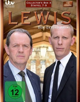 "Das Cover der ""Lewis - Der Oxford Krimi""-Collector's Box 3 (© Edel:motion)"