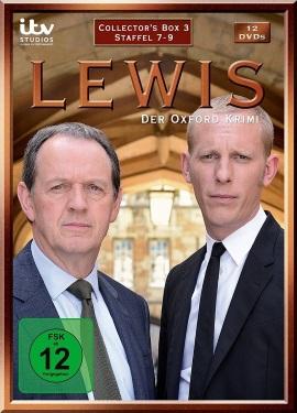 """Das Cover der """"Lewis - Der Oxford Krimi""""-Collector's Box 3 (© Edel:motion)"""