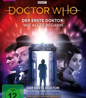 """Das DVD-Cover von """"Doctor Who: Der erste Doctor - das Kind von den Sternen"""" (© Polyband)"""