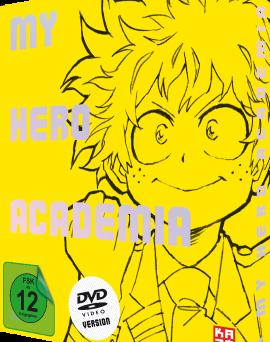 """Das DVD-Cover von """"My Hero Academia"""" Box 1 (© Kazé Deutschland)"""