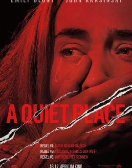"""Das Hauptplakat von """"A Quiet Place"""" (© Paramount Pictures)"""