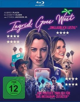 "Das Blu-ray-Cover von ""Ingrid Goes West"" (© Universum/Universal)"