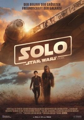 "Das Hauptplakat von ""Solo - A Star Wars Story"" (© 2018 Walt Disney Studios Motion Pictures Germany)"