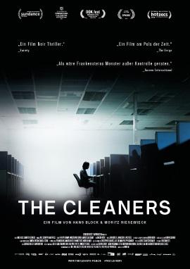 "Das Hauptplakat von ""The Cleaners"" (© 2018 Farbfilm Verleih)"