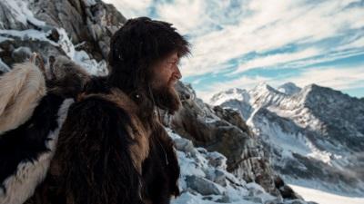 Jürgen Vogel in der Rolle der weltbekannten Eismumie (© Ascot Elite)