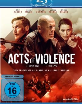 "Das Blu-ray-Cover von ""Acts of Violence"" (© Constantin Film)"