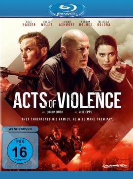 "Das Blu-ray-Cover von ""Acts of Violence"" (© Constantin Film)"