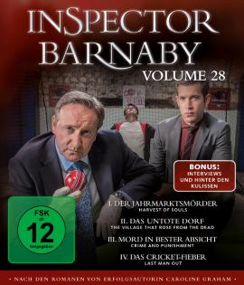 "Das Blu-ray-Cover von ""Inspector Barnaby Volume 28"" (© edel:motion)"