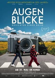 """Das Hauptplakat von """"Augenblicke: Gesichter einer Reise"""" (© 2018 Weltkino)"""