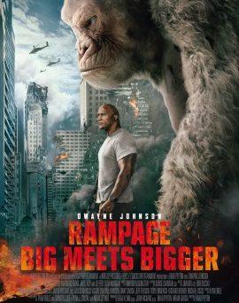 "Das Hauptplakat von ""Rampage - Big Meets Bigger"" (© 2018 Warner Bros Pictures)"