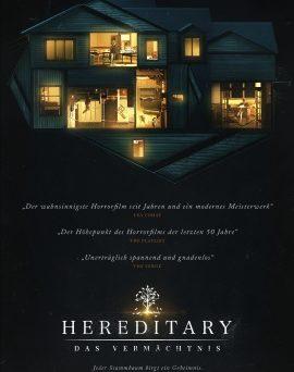 """Das Hauptplakat von """"Hereditary - Das Vermächtnis"""" (© Splendid Film)"""