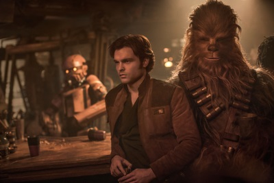 Han und Chewie am Anfang ihrer Freundschaft (© 2018 Walt Disney Studios Motion Pictures Germany)